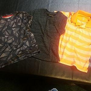 4 for $20 boys shirts, sz S, 6/7